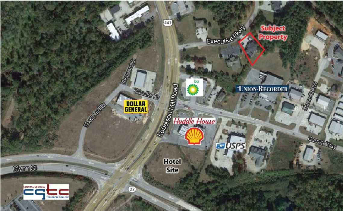 127 Executive Parkway Milledgeville, GA - For Sale - Fickling & Company